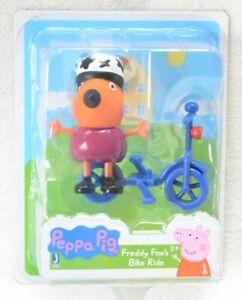 PEPPA PIG Freddie Fox's Bike Ride Figure *NEW*