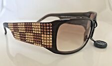 Jimmy Crystal Athens Sunglasses S.Topaz  & Gold Swarovski, Style GL828 DEMO