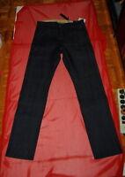 NWT rag & bone men Archive dk blue rigid selvedge slim stright jeans SZ 29 TO 38