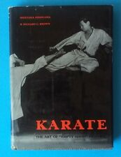"KARATE THE ART OF ""EMPTY HAND"" FIGHTING H. NISHIYAMA w/DUST JACKET 1962 (HC)"