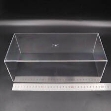 Model Car Acrylic Case Display Box Show Transparent Dust Proof with Base 1/24