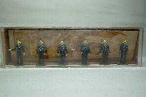 VINTAGE MERTEN FIGUREN BOX - SPUR H0 - FEUERWEHR SET - BOX 2371 (1.FIG-18)