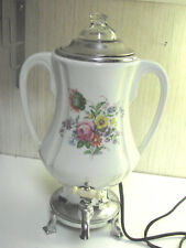 Royal Rochester Ceramic China  Percolator Coffee Maker Tea Pot Urn NO INSERT