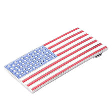Men's Us Pride American Nation Country Flag Belt Buckle Usa with 50 Stars