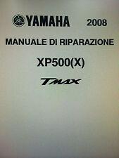 Manuale di Officina YAMAHA TMAX  500 dal 2008 al 2012 INTROVABILE !!!