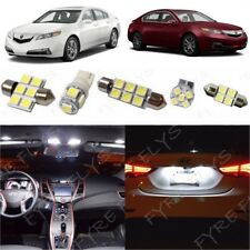 13x White LED Interior Lights Package Kit for 2009-2014 Acura TL +Tool AT3W