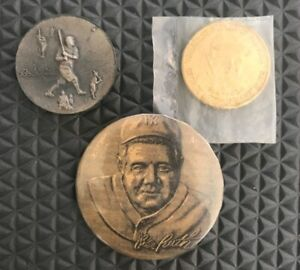 Babe Ruth Bill Gallo New York Yankees baseball coin Rare With Coins and Button