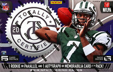 2013 Panini Totally Certified Football Hobby Boxi - 6 Auto or MEM