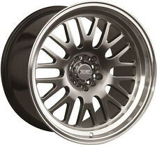 XXR 531 18X8.5/9.5 R WHEELS 5X100/114.3 +20 CHROMIUM BLACK RIM FITS 370Z MUSTANG
