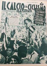 IL CALCIO ILLUSTRATO N 19 1958 - JUVENTUS DECIMO SCUDETTO CHARLES JUVE