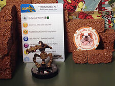 Mageknight / HeroClix - Technoshocker #018 - Both Bases