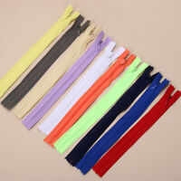 10X Invisible Zippers Tailor Garment Nylon Handcraft Apparel Sewing Accessories