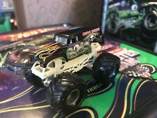 Hot Wheels Monster Jam Truck 1/64 Grave Digger Small Hub 20th Anniversary