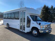 2011 Ford E450 Church Shuttle Bus Van, 24 Passengers, RV Conversion, NO LIFT