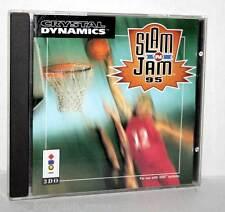 SLAM N JAM 95 GIOCO USATO STUDIO 3DO ED AMERICANA RETROCOPERTINA MANCANTE  GB1