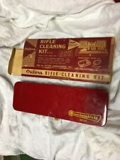 VINTAGE OUTERS GUNSLICK  22 CAL RIFLE GUN CLEANING KIT NO. 477