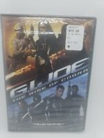 GI JOE: THE RISE OF COBRA DVD Widescreen - Brand New Sealed - Free Shipping