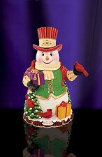 Christopher Radko - Regal Snowman Cookie Jar - Snowman and Cardinals - 2011890