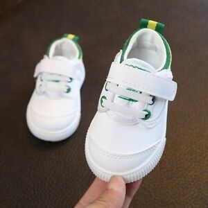 Infants Baby Soft-sole Beginner Walking Shoes Solid Pattern Patch Casual Stylish