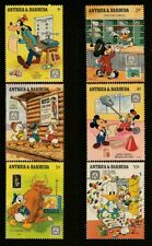 Antigua & Barbuda, Disney Animation,  MNH Stamps, Lot - 1