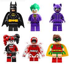 Lego Batman Minifigures Set of 6 - Joker Catwoman Robin Harley Quinn Calendar