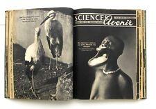 Sciences et Avenir relié  - Année complète 1951  Du n°47 au 58 -Reliure éditeur