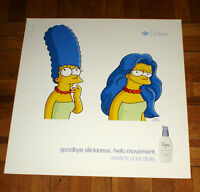 THE SIMPSONS MARGE SIMPSON DOVE SHAMPOO SUBWAY POSTER ULTRA RARE