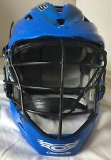 New listing Cascade Pro 7 Lacrosse Helmet Blue With Black Grill Size Osfm