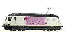"""Roco 73274 - Elektrolokomotive 465 017 """"Pink Panther"""", BLS H0 DC Neu"""