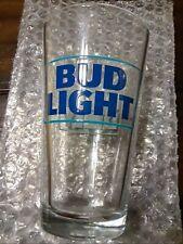 Bud Light 2 Pack Pint Glasses Clear