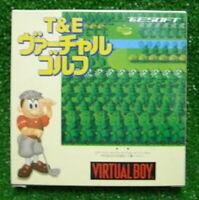 T&E VIRTUAL GOLF Nintendo Virtual Boy From japan