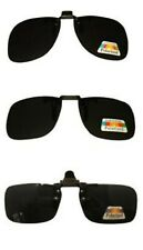 Clip on Flip up Sunglasses Polarised Holidays Driving 100% UV400 Protection