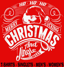 Christmas Cotton Short Sleeve T-Shirts for Men