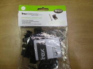 Trex Hideaway Kit. Universal Start/End Clips. Hidden Fasteners 400 sq. ft. Decks