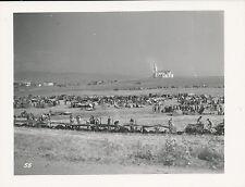 P.O.W. Camp Near Mediez el Bab, N Africa 1943 WWII  47th Bomb Group Photo No 55