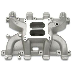 Edelbrock 71187 Performer RPM Carb Intake Manifold LS Swap LS1 5.3L 6.0L Satin
