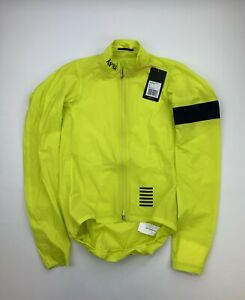 RAPHA Pro Team Lightweight Shadow Jacket Yellow Size Small New
