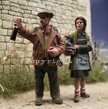 1/43 Figurine MK35 F43-79 2 figurines couple de paysans à monter et à peindre