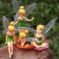 Flower Fairy Micro Landscape Gardening Fairy Mini Dollhouse Family Ornament HOT