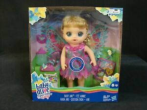Baby Alive Once Upon a Baby Fairy ANI Special Edition Doll New Hasbro