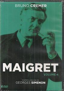 "DVD ""Maigret - Volume 4"" -Bruno Cremer   NEUF SOUS BLISTER"