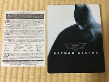 amazon.co.jp limited Batman Begins Blu-ray SteelBook rare from Japan Steel Book
