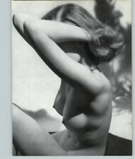 1965 Peter Basch Nude Slim Beautiful Hair Female Perfect Breasts Photo Gravure
