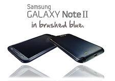 Metal cepillado de la piel para Samsung Galaxy Note 2 envoltura pegatina Estuche Protector