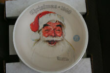 "1988 Norman Rockwell ""Santa Claus"" Collector Plate"