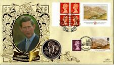 14 NOVEMBER 1998 PRINCE OF WALES 50th BIRTHDAY LABEL FDC SHS ONLY 30 PRODUCED
