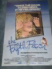 THE FIFTH FLOOR(1979) BO HOPKINS ORIG 1 SH MOVIE POSTER