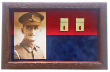 Large Royal Field Artillery Medal Display Case for 5+ Medals With Photograph