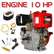 "10Hp 411cc Diesel Engine 4 Stroke Single Cylinder 2 - 5/6"" Shaft Length in U.S"