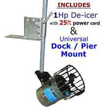 Kasco 4400 1 HP De-icer Water Agitator Deicer for Dock Marina Boat Lake & Pond